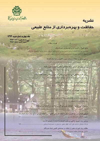 نشریه حفاظت و بهره برداری از منابع طبیعی